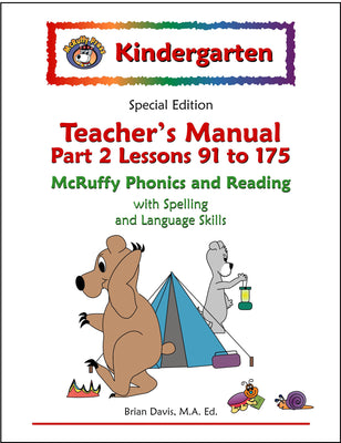 Kindergarten SE Phonics and Reading Teacher's Manual (Part 2) - McRuffy Press