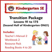 K SE Phonics and Reading Transition Curriculum Package - McRuffy Press