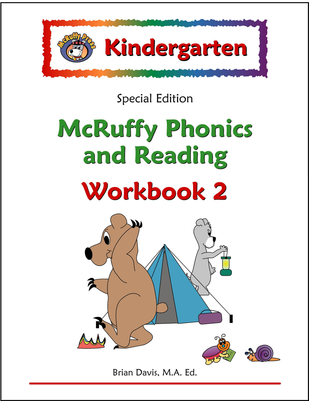 Kindergarten SE Phonics and Reading Workbook 2 - McRuffy Press