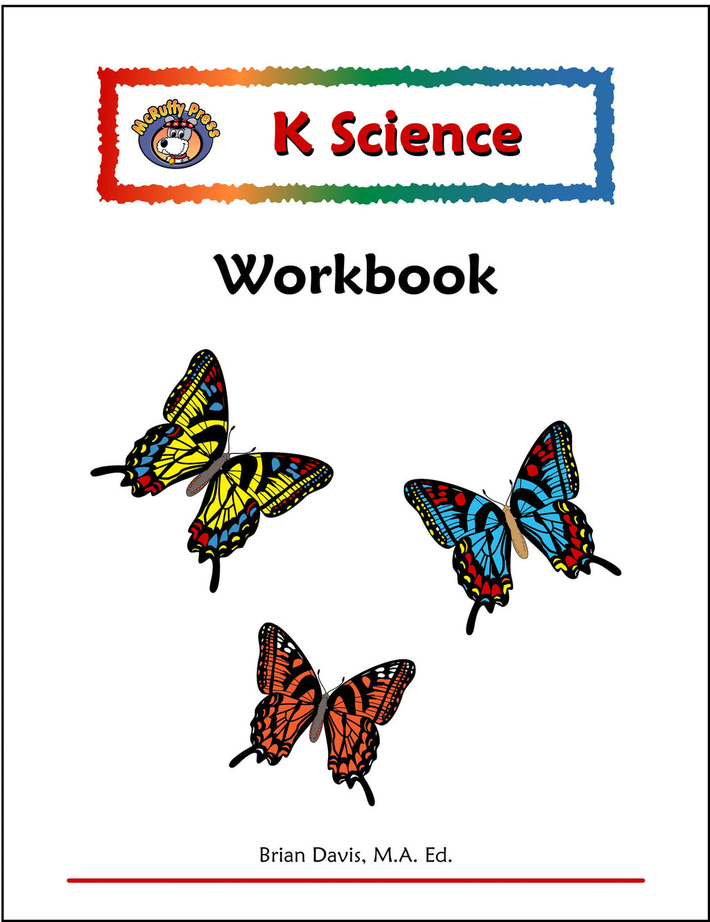 Kindergarten Science Workbook - McRuffy Press