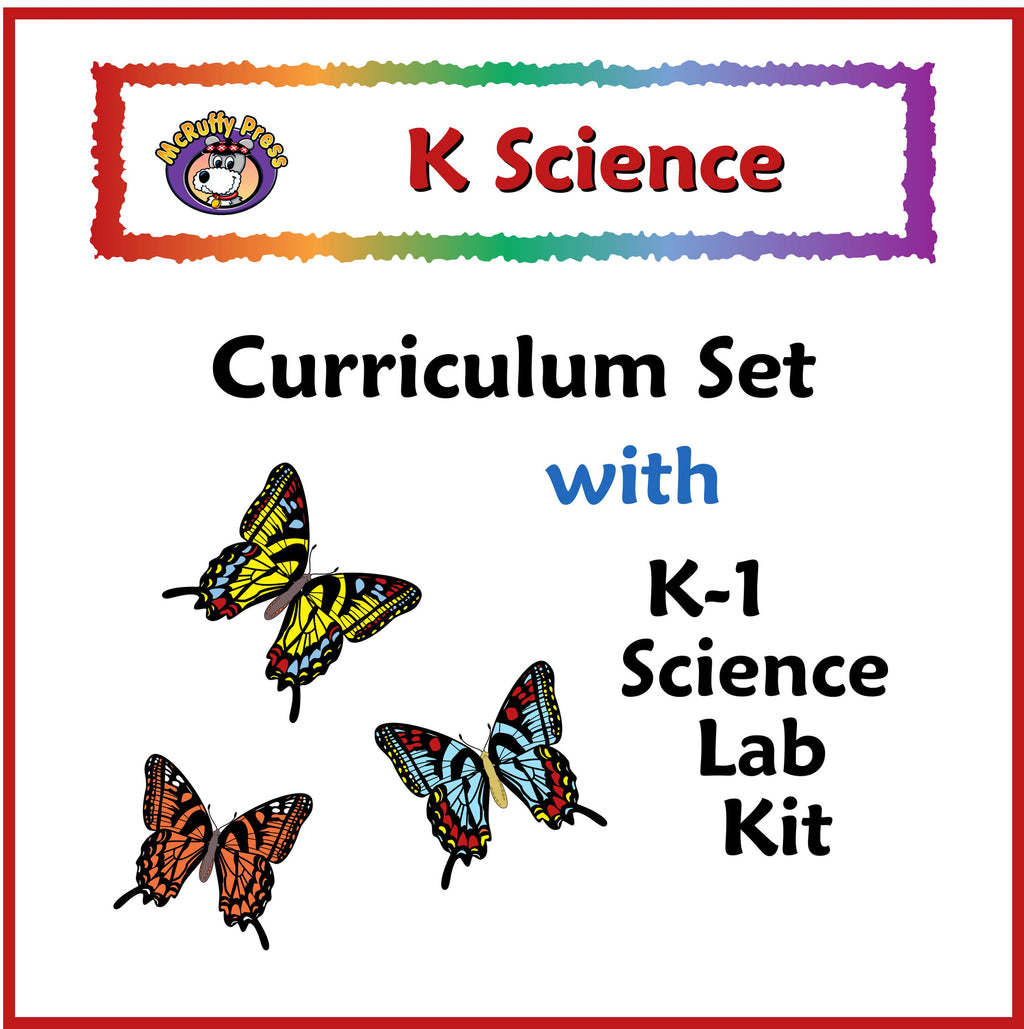 Kindergarten Science Curriculum with Lab Kit - McRuffy Press