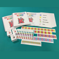 Kindergarten Color Math Curriculum with Manipulative Kit - McRuffy Press