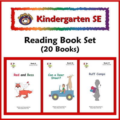 Kindergarten SE Phonics Readers - McRuffy Press