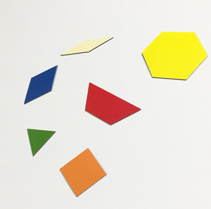 Magnetic Pattern Blocks Set - McRuffy Press