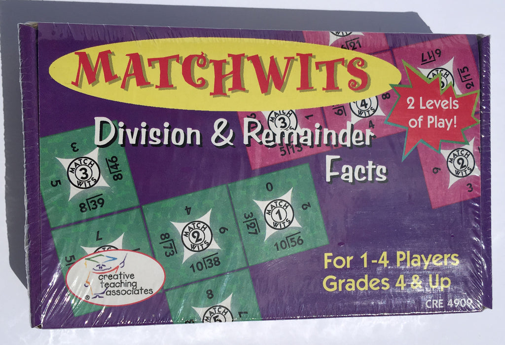Matchwits Division Game - McRuffy Press
