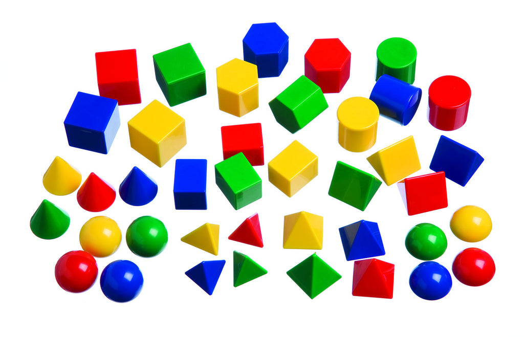 Mini Geometric Solids - McRuffy Press
