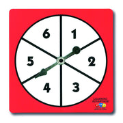 1-6 Number Spinner - McRuffy Press