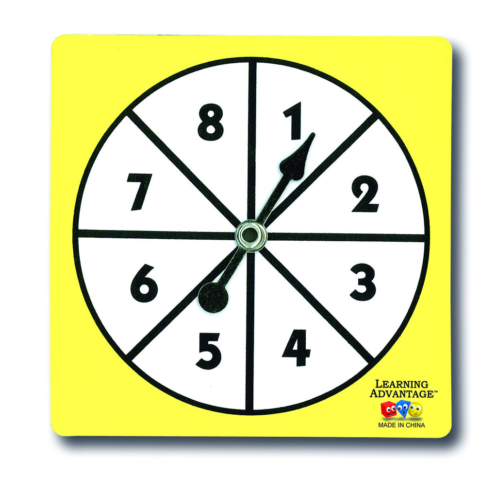 1-8 Number Spinner - McRuffy Press