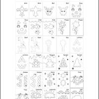McRuffy Pattern Block Pictures Book - McRuffy Press