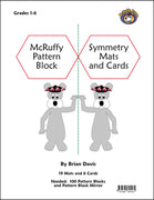 McRuffy Pattern Block Symmetry Mats - McRuffy Press