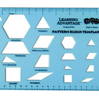 Pattern Block Template - McRuffy Press