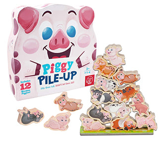 Piggy Pile-Up Game - McRuffy Press