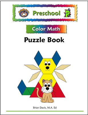 Preschool Color Math Puzzle Book - McRuffy Press
