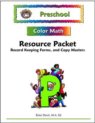 Preschool Color Math Resource Pack - McRuffy Press