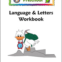 Preschool Language & Letters Workbook - McRuffy Press