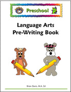 Preschool Language Arts Pre-Writing Book - McRuffy Press