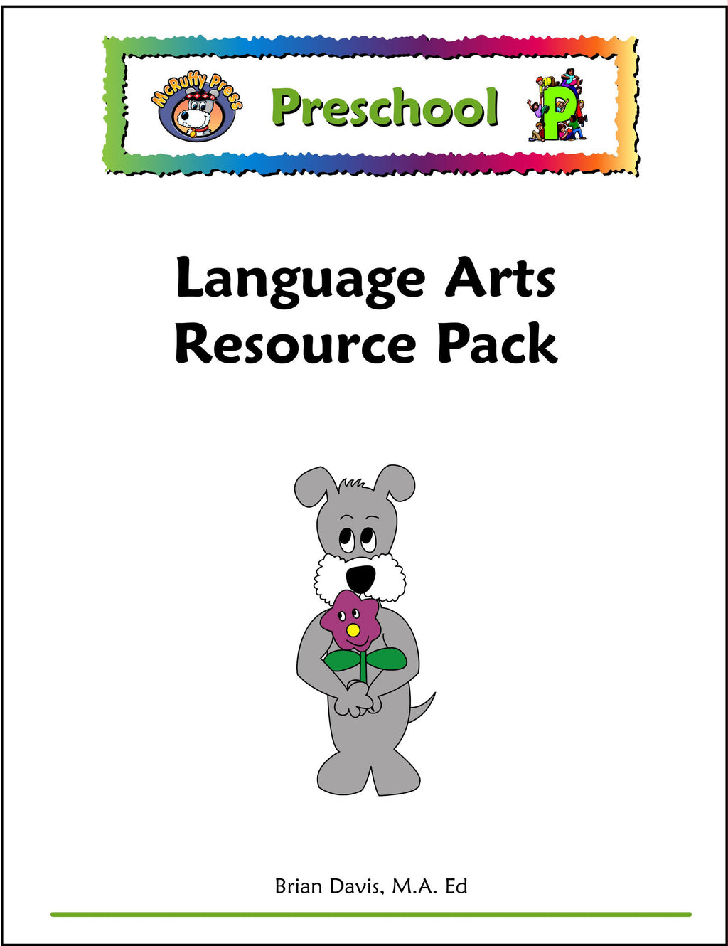 Preschool Language Arts Resource Pack - McRuffy Press