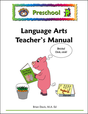 Preschool Language Arts Teacher's Manual - McRuffy Press
