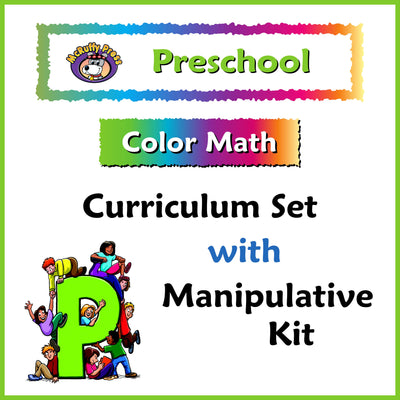 Preschool Color Math Curriculum with Manipulative Kit - McRuffy Press