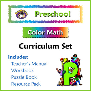 Preschool Color Math Curriculum - McRuffy Press