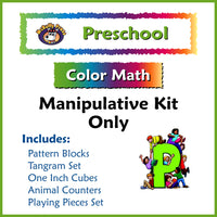 Preschool Color Math Manipulative Kit - McRuffy Press