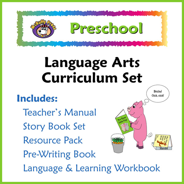 Preschool - Language Arts - McRuffy Press