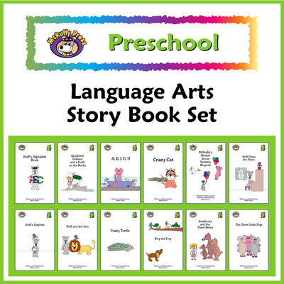 Preschool Language Arts Book Set - McRuffy Press