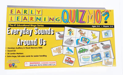 Everyday Sounds Around Us Quizmo - McRuffy Press