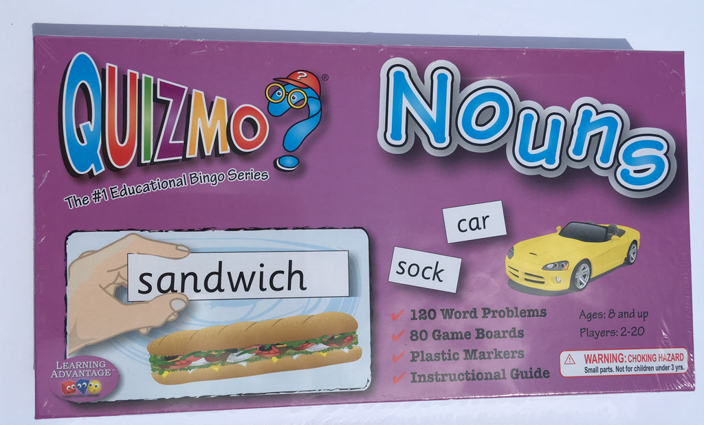 Nouns Quizmo - McRuffy Press