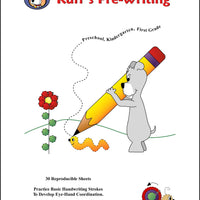 Ruff's Pre-Writing Flip and Draw Book - McRuffy Press