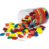 Pattern Blocks (250 piece set)  1 CM Wood