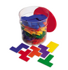 Pentomino Tub (6 sets of 12 pieces) - McRuffy Press