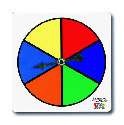 Six Color Spinner - McRuffy Press