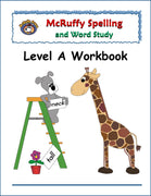 Spelling Level A Workbook - McRuffy Press