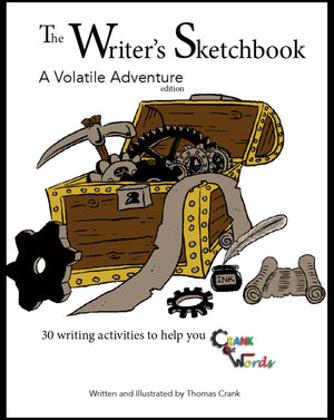 The Writer's Sketchbook: Volatile Adventure - McRuffy Press