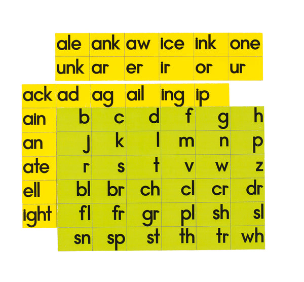 Word Family Magnets - McRuffy Press