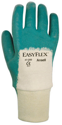 Easy Flex Gloves, 10, Aqua