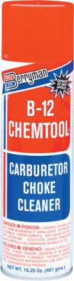 B-12 CHEMTOOL Carburetor/Choke Cleaners, 16 1/4 oz Aerosol Can