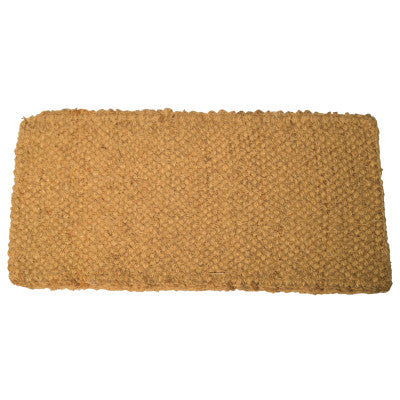 Coco Mats, 18 in Long, 30 in Wide, Natural Tan