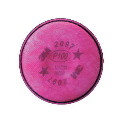 2000 Series Filters, Nuisance Level Organic Vapor, P100, Magenta, 100 per case