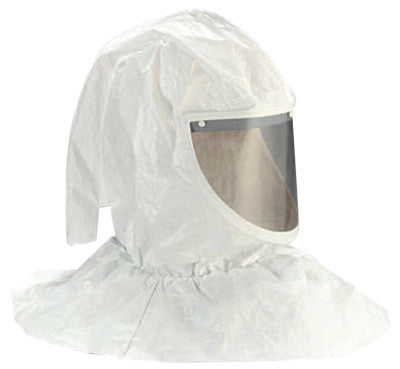 H-400 Series Hoods and Head Covers, w/Visor, Collar & Hardhat