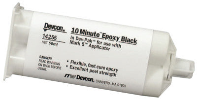 10 Minute Epoxy, 50 mL, Dev-Pak, Black