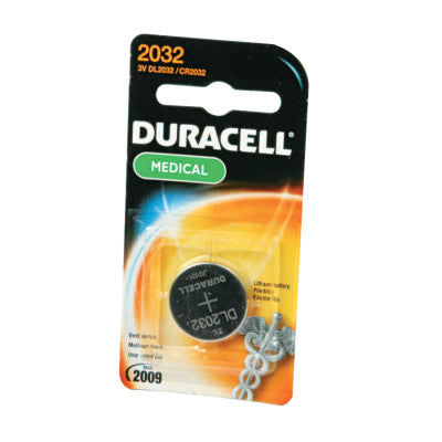 Duracell Batteries, Lithium Cell, 3 V, 2032, 1 per pack