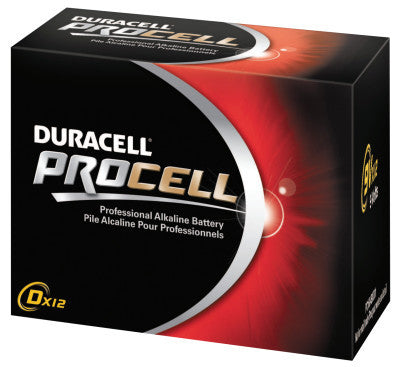 Duracell Procell Batteries, Non-Rechargeable Alkaline, 1.5 V, D, 1 per pack