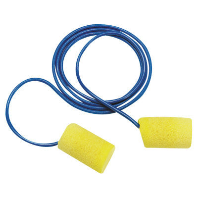 E-A-R Classic Foam Earplugs, Metal Det. w/Cord, 200 pair per box