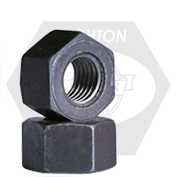 A194 / SA 194 2H HEAVY HEX NUTS 8 PITCH MED. CARBON PLAIN