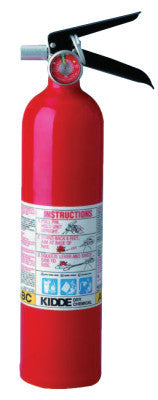 2.6LB. TRI-CLASS DRY CHEMICAL FIRE EXTINGUISHER