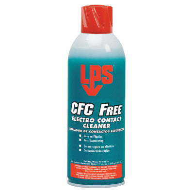 CFC Free Electro Contact Cleaners, 11 oz Aerosol Can