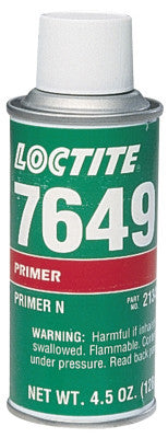 7649 Primer N, 4.5 oz Aerosol Can, Clear Green
