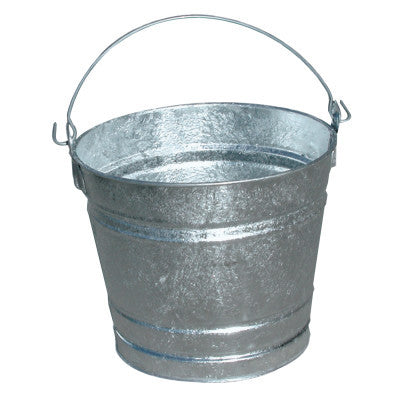 10QT GALVANIZED WATER PAIL